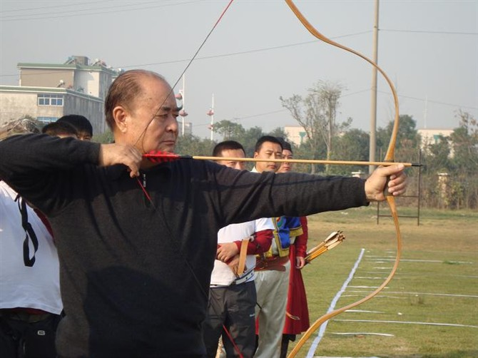 The Cinnabar Bow Traditional Chinese Archery Equipment